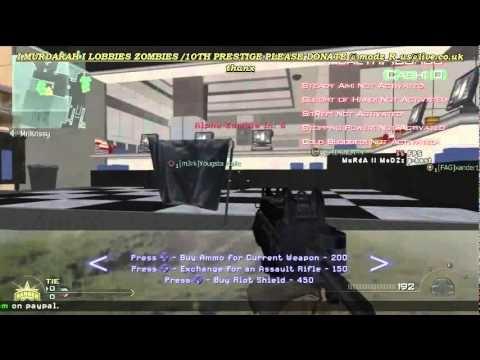 FREE ZOMBIES MW2 10TH PRESTIGE XP CHALLENGE LOBBY FREE DAILY PS3 XBOX 360 PC LOBBY BY I MURDARAH I