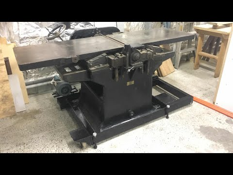 old german jointer/ thicknesser part 5