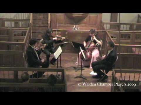 Walden Chamber Players: Devienne Basson Quartet - III. Grazioso con variazioni