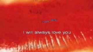 The Cure - Love Song (karaoke)