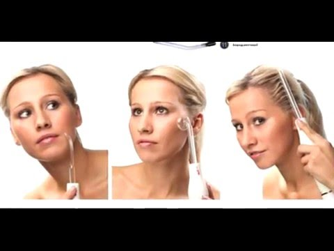 Аппарат Дарсонваль LW 018 для роста волос для лица для тела - YouTube