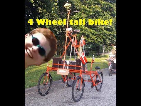 Building a 4 wheel bike TIMELAPSE (Read Description)