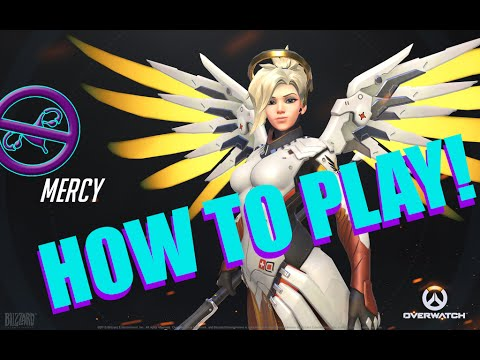 Overwatch: How To Mercy! Heals, Damage And Reviving The Team!!! #overwatch