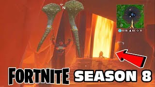 FORTNITE SEASON 8   Pirates   Volcano   Dragons Gameplay- First Look