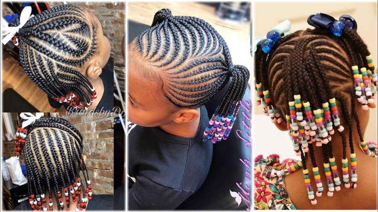 Beautiful Braids Hairstyles for Kids : 2020 latest ...