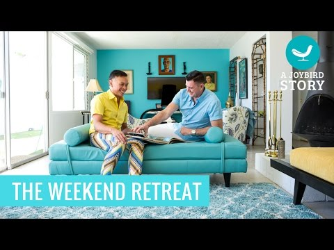 The Weekend Retreat - Ossie and Craig, Palm Springs, CA - Joybird Stories