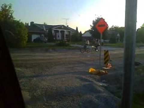 Riding home from Niagara on the Lake to St Catharines