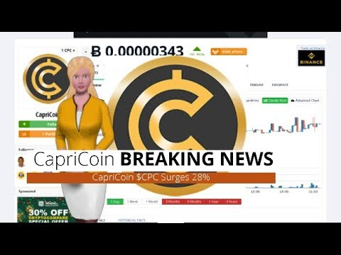 CapriCoin $CPC Climbs 28% During the Past Day 2