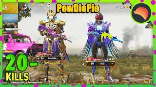 LEVINHO Changed Name To PewDiePie | PUBG MOBILE