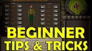 Oldschool Runescape - Beginner Tips & Tricks