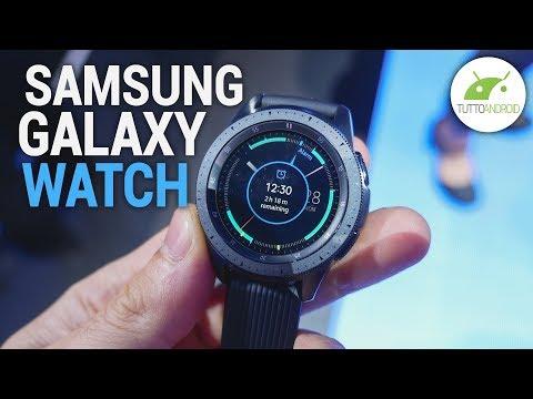 SAMSUNG GALAXY WATCH è lo smartwatch con MIGLIORE AUTONOMIA? | Anteprima | ITA | TuttoAndroid