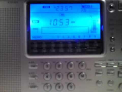 Radio Jamahiriya Tripoli 1053 KHz - 19.03.2011 - 22:51-23:00 UTC