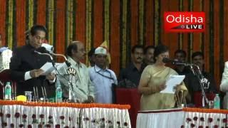 Usha Devi - Odisha Cabinet Minister - Taking Oath