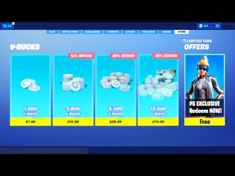 How To Get 'Neo Versa' Skin Pack for FREE in Fortnite! Fortnite Neo Versa Playstation Exclusive Skin