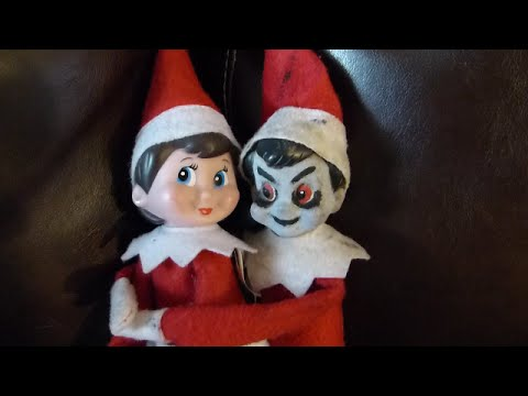 An Elf on the Shelf Ghost Story!