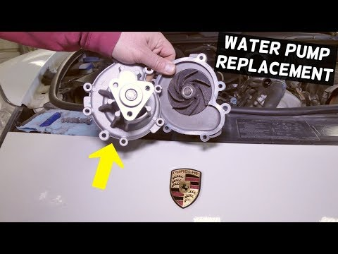 HOW TO REMOVE AND REPLACE WATER PUMP ON PORSCHE CAYENNE