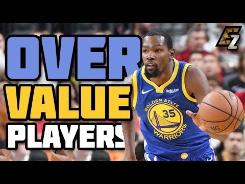 OVERVALUE Players Fantasy Basketball 2018-2019