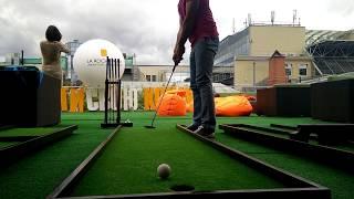 Дорожка N5 для игры в мини гольф | 2025golf