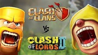 Clash of Clans VS Clash of Lords 2 - LA GUERRA HA INIZIO!