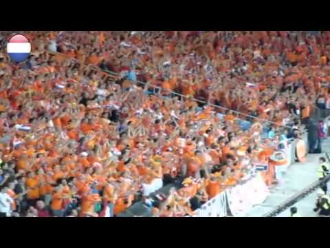 Dutch Football Supporters ( Holland - The Netherlands Best Fans In The World ) 2011