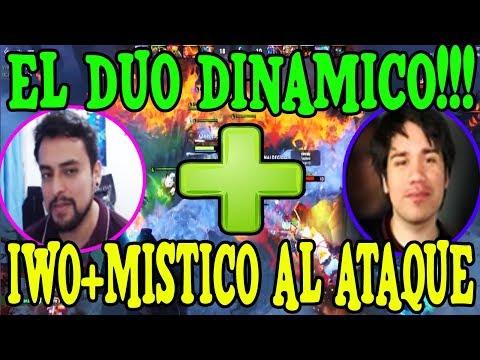 EL DUO DINAMICO!!! IWO+MISTICO AL ATAQUE I DOTA 2 thumbnail