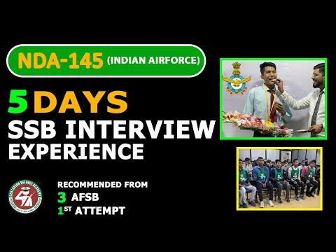 5 Days SSB Interview Experience at 3 AFSB Gandhi Nagar - Meet Vikrant NDA-145 Selected Candidate