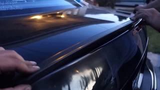 Як встановити задній багажник, крила, спойлер для E клас Мерседес Мерседес W211