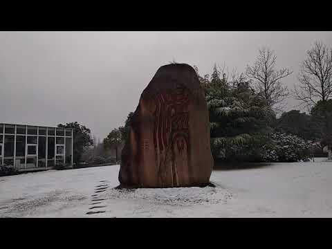 Snowfall in Shanghai University of Political Science and Law 2018 (Part 4)
