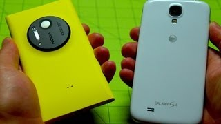 Nokia Lumia 1020 vs Samsung Galaxy S 4