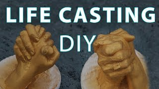life casting of hands in 30 minutes