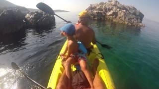 SEA KAYAK GREECE - beaches arround schinos