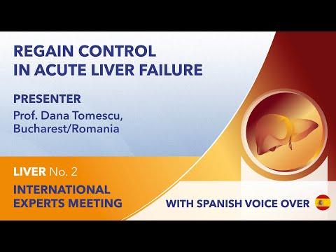Recuperación del control en la insufi ciencia hepática aguda | Dana Tomescu | Hígado Webinar No. 2