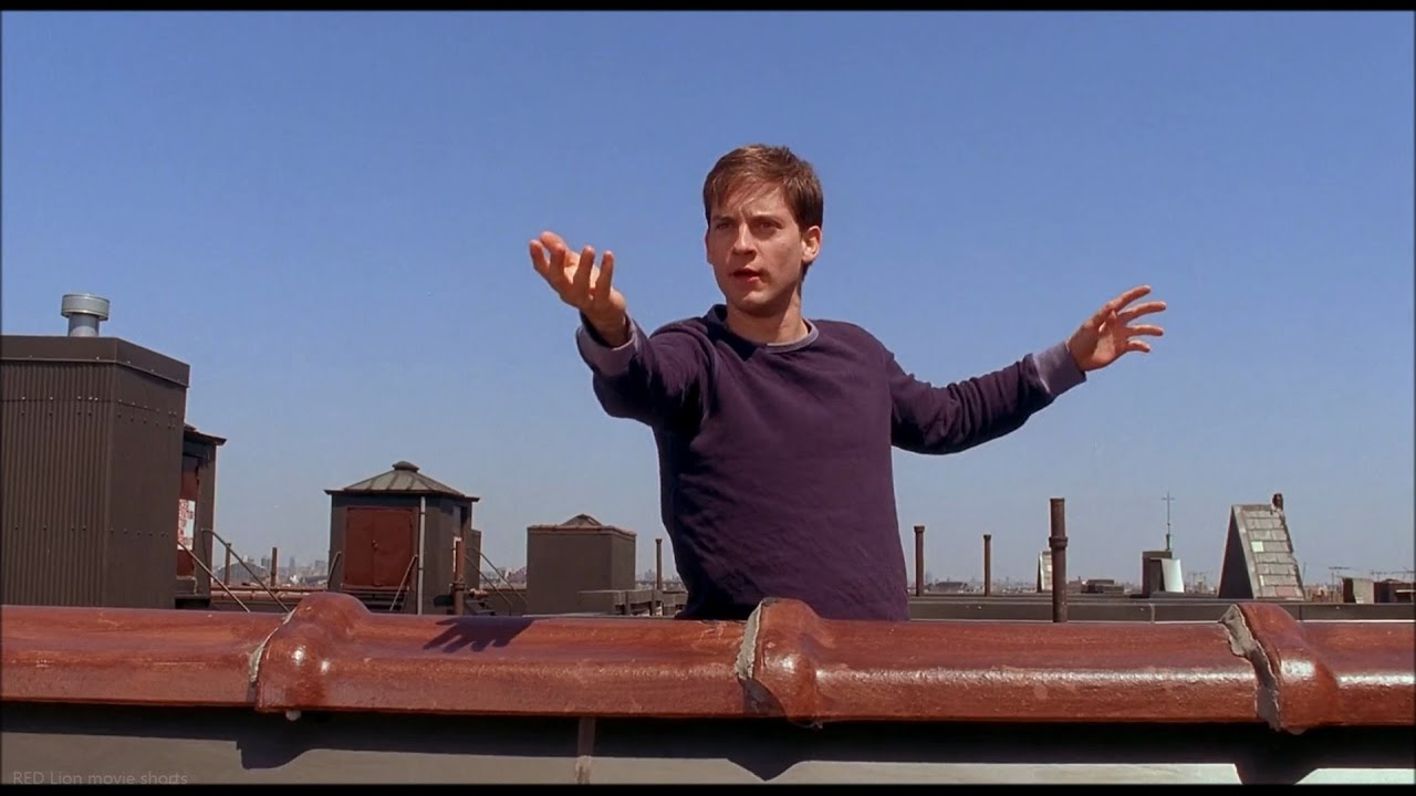 Spider Man 2002 Peters Power Testing Scene 1080p Full Hd