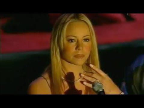 Mariah Carey  Star Spangled Banner Including PreShow Footage 2002