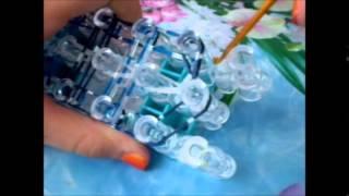Видео - урок по плетению браслета лестница