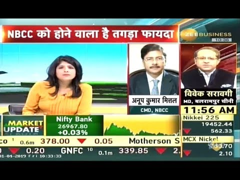 Dr. Anoop Kumar Mittal, CMD, NBCC in conversation with Zee Business.
