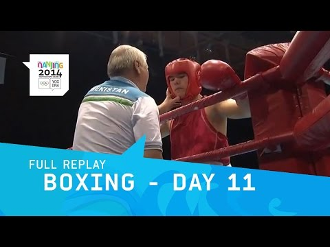 Boxing  - Men's Finals Day 11 | Full Replay | Nanjing 2014 Youth Olympic Games