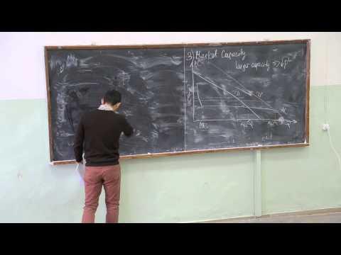 Теория отраслевых рынков. Лекция 9. Азамат Кашакбаев (CERGE-EI, Прага)