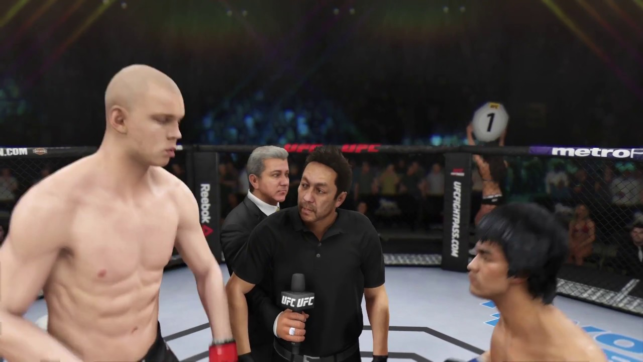 Download Bruce Lee vs. Stefan Struve (EA Sports UFC 3) - CPU vs. CPU - Crazy UFC 👊🤪