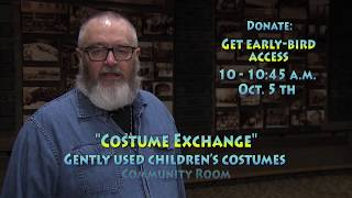 Library Collecting Costumes for Kids Exchange