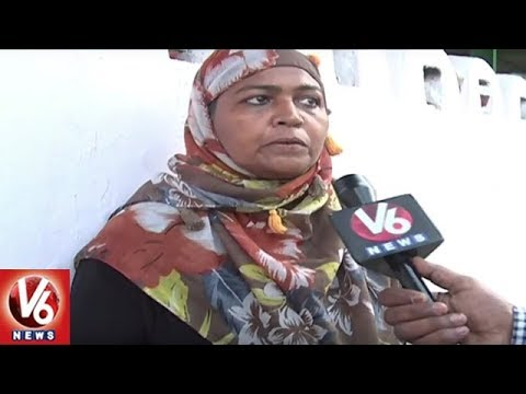 Two Rich, Educated Women Among Beggars Stun Cops In Hyderabad | V6 News