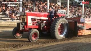 MTTP Truck Pulls At Holland MI - Field Farm Tractor Class July 2016
