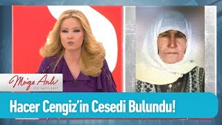Hacer Cengiz'in cesedine ulaşıldı! - Müge Anlı ile Tatlı Sert 8 Mart 2019