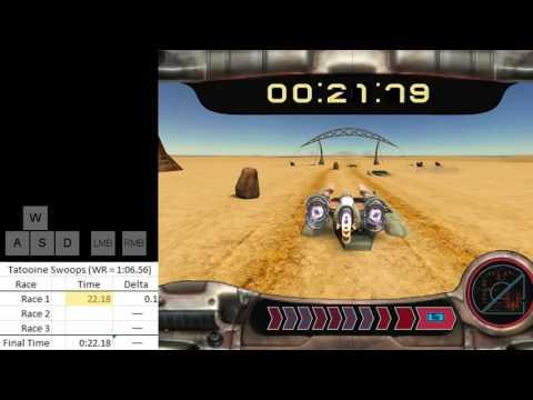 SW: KotOR Tatooine Swoop Circuit 1:06.38