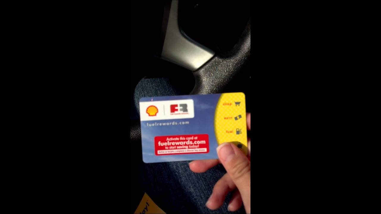 shell fuel rewards card save 03 per gallon - How To Use Shell Fuel Rewards Card