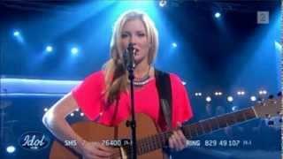 "Idol Norge 2013 - Astrid Smeplass (16) Semifinale ""Human"" [HD] Mp3"