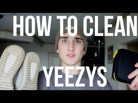 How to Clean Yeezy 350 Boost