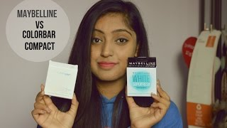 Maybelline White Superfresh Compact vs Colorbar Radiant White UV Fairness Compact Powder