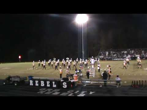 Ore City High School Rebel Band 10-27-2017