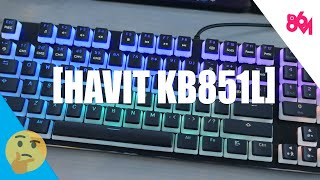 Havit has a new take on 80% by preserving the 10-Key (HAVIT KB851L)